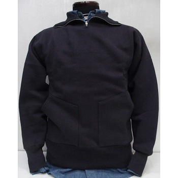 threeeight_wh-halfzip-sweat-plain-navy.jpg